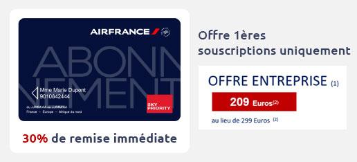 Carte d'Abonnement France-Europe-Afrique du Nord